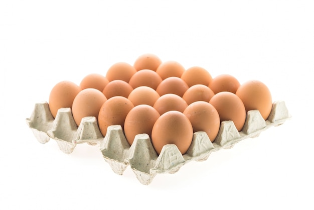 Aliment alimento sano cáscara de huevo marrón