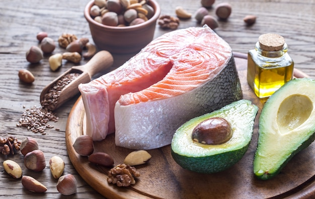 Alimentos con grasas omega-3