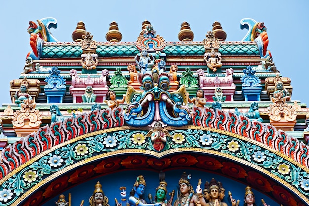 Alivio del templo menakshi