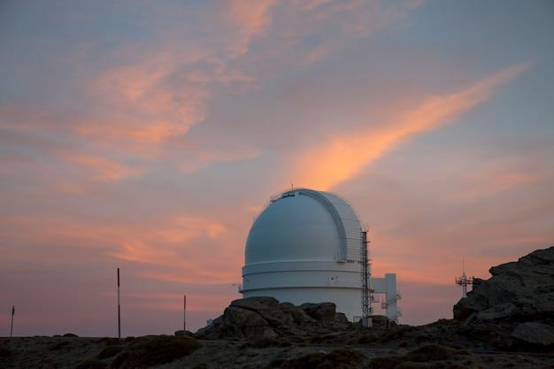 Almería, españa, observatorio de calar alto