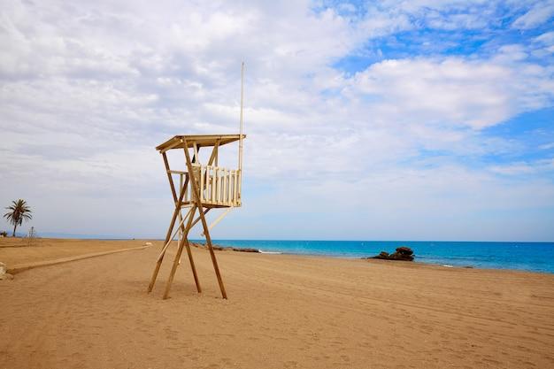 Almería playa de mojácar mar mediterráneo españa