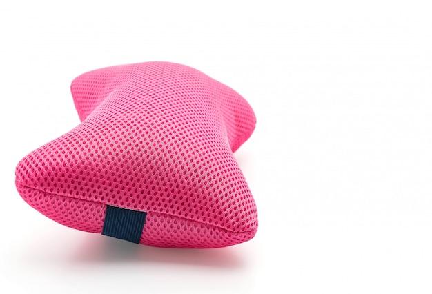 Almohada para el cuello en blanco