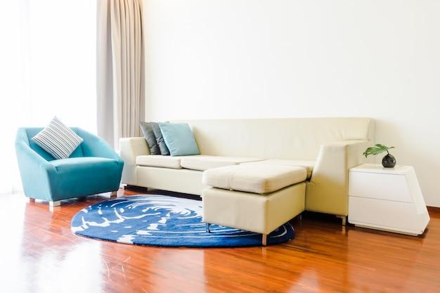 Almohadillas amortiguador blanco moderno y elegante