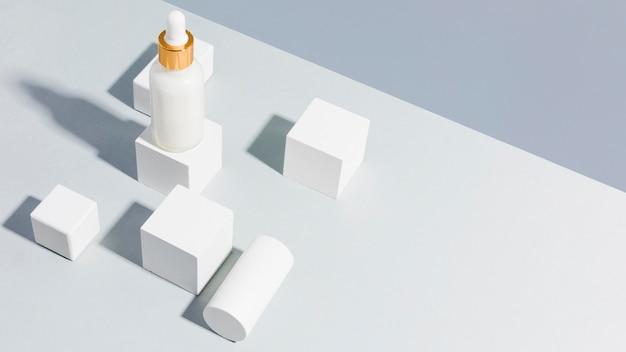 Alta visión recipiente de mantequilla corporal