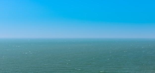 Alta vista del mar