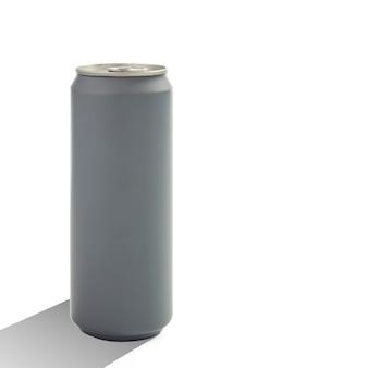 Aluminio en blanco puede aislado