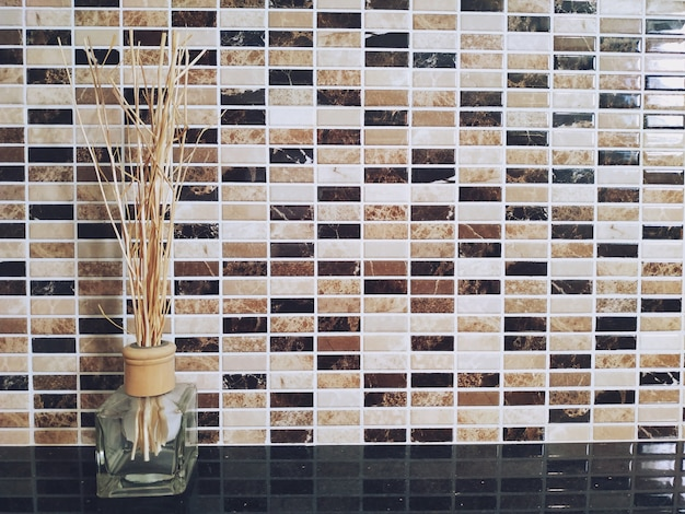 Ambientador aromático de lámina, fondo interior del hogar