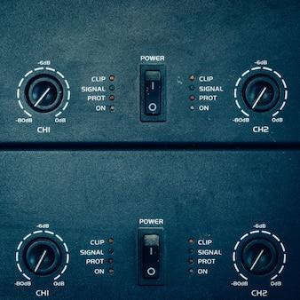 Amplificador de interruptor de potencia en estudio