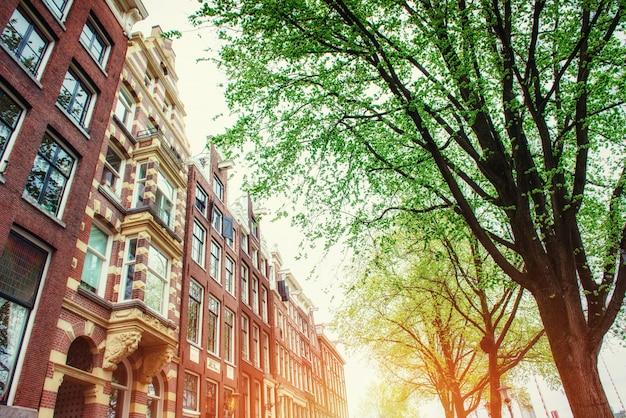 Amsterdam, holanda . centro istorychnyy