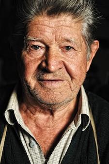 Anciano, retrato