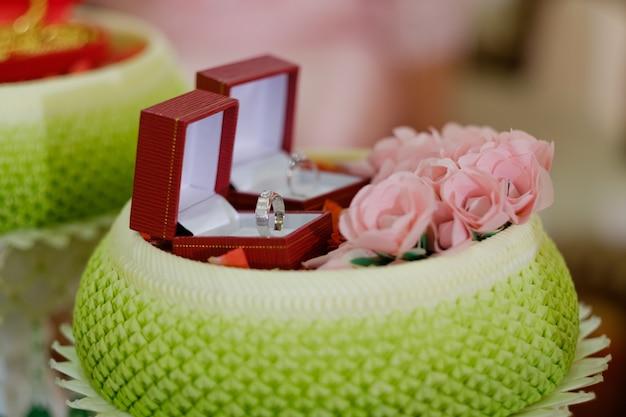 Anillo de bodas, boda tailandesa