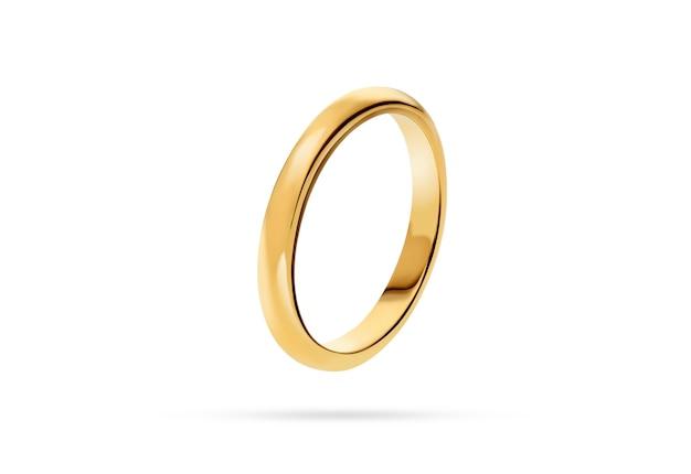 Anillo de bodas de oro