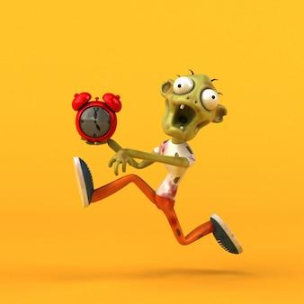 Animación zombie divertida