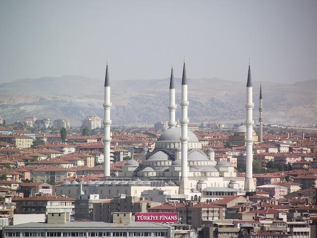 Ankara mezquita kocatepe