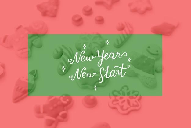 Año nuevo paz amor cuidado