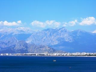 Antalya y las montañas de taurus
