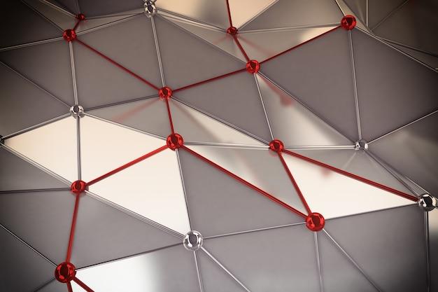 Antecedentes de las esferas de interconexión conectadas entre sí