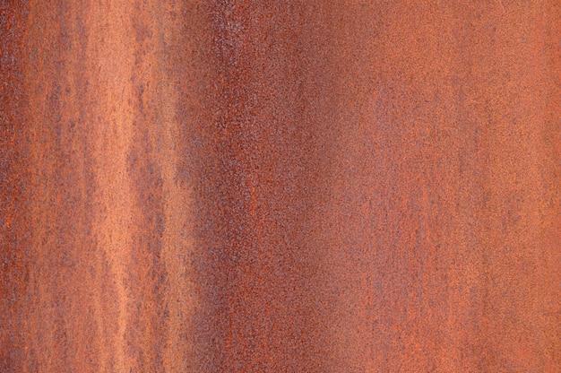 Antecedentes del metal oxidado