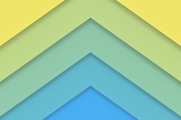 Antecedentes de papel de colores. representación 3d