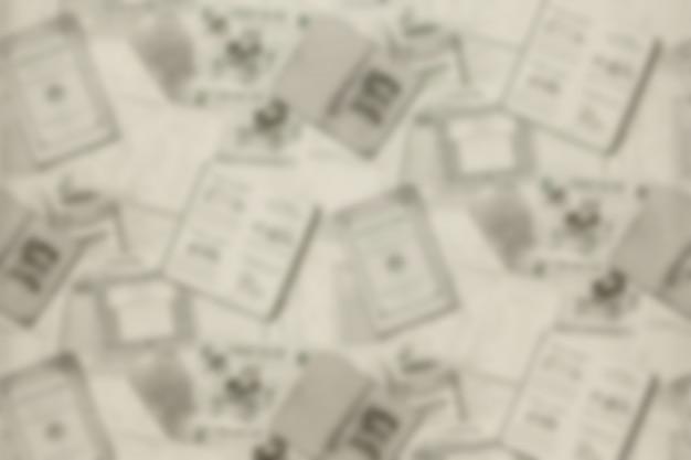 Antecedentes de viejos periódicos. textura de fondo, vista superior