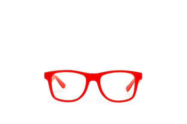 Anteojos rojos