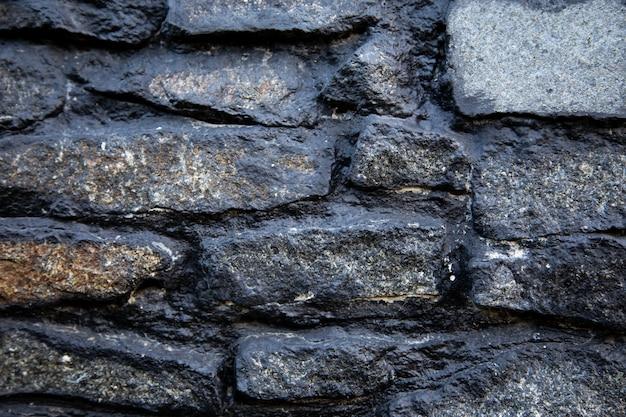Antigua mampostería de piedra. textura de fondo,