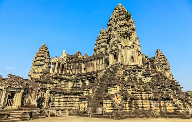 Antiguo castillo en camboya, angkor wat