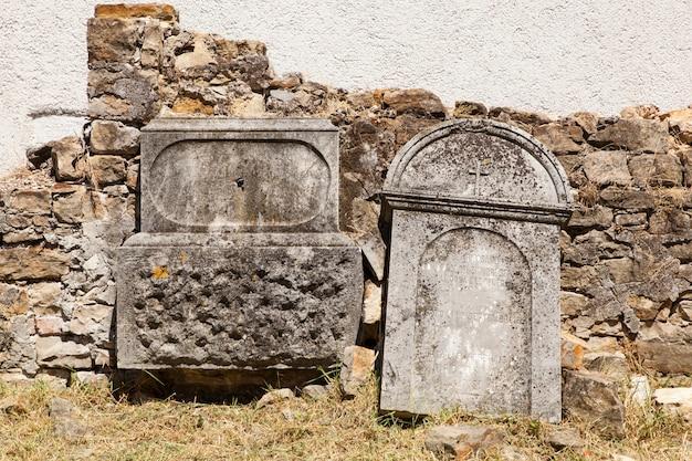 Antiguo cementerio de italianos en buje, croacia