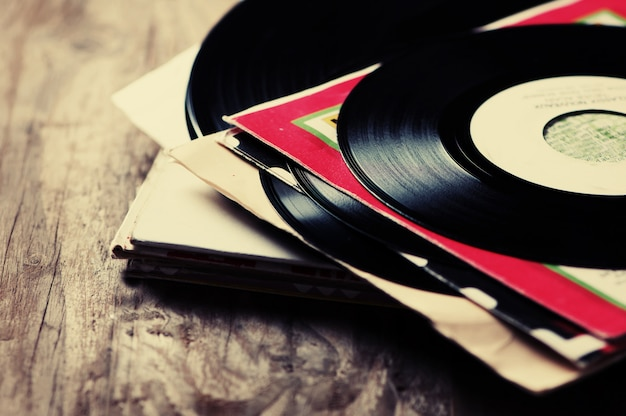Antiguo disco de vinilo