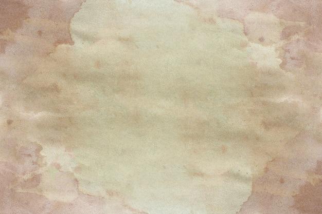 Antiguo fondo de grunge de papel marrón. textura de color café líquido abstracto. Foto Premium