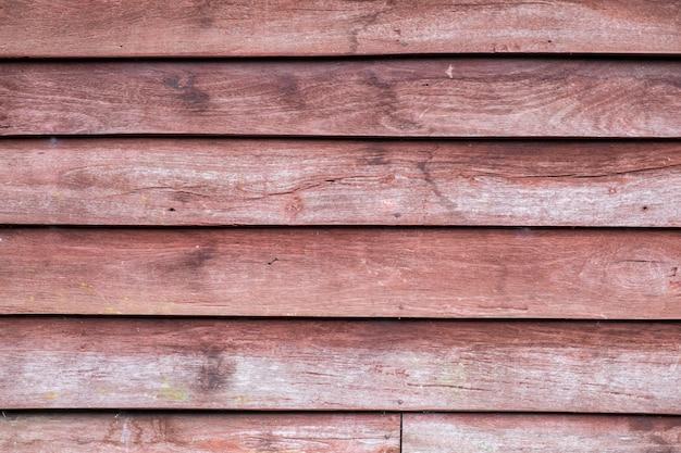 Antiguo fondo de madera de color rojo marrón