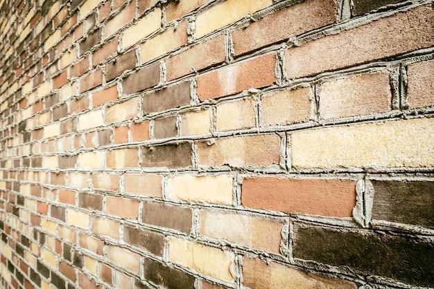 Antiguo fondo de pared de ladrillo vintage