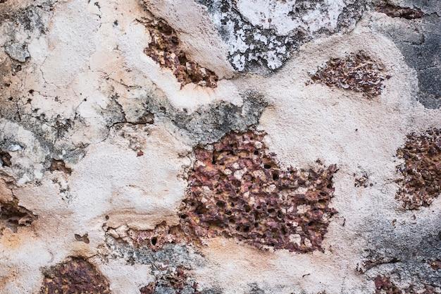 Antiguo fondo de pared de ladrillo