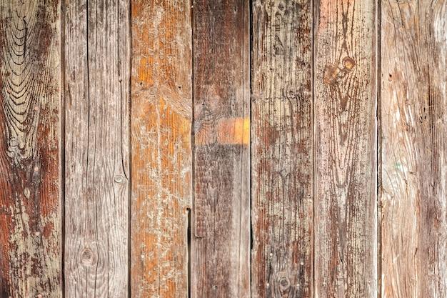 Antiguo fondo de tablones de madera rústica