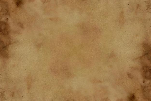Antiguo fondo de textura de grunge de papel marrón.