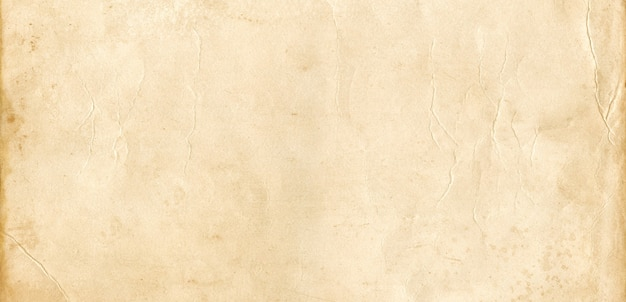 Antiguo fondo de textura de papel de pergamino. papel pintado banner vintage