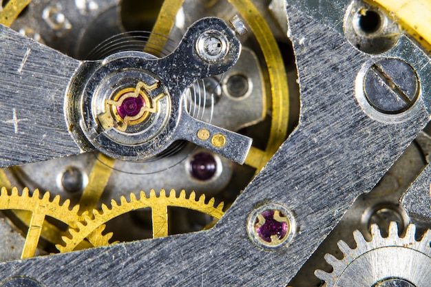Antiguo mecanismo mecánico