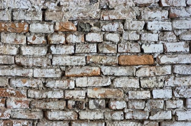 Antiguo muro de ladrillo hdr