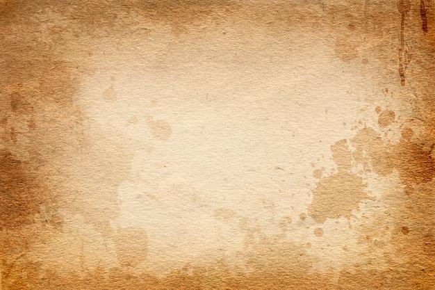 Antiguo papel marrón vintage