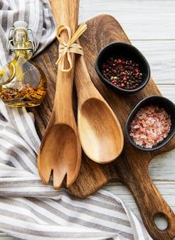 Antiguos utensilios de cocina vintage