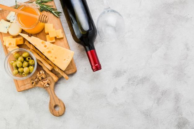 Aperitivo de queso