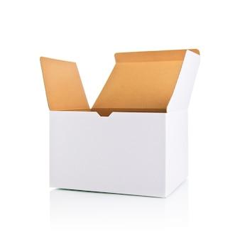 Apertura de la caja blanca