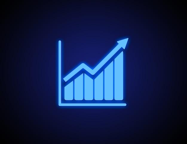 Aplicación de icono de estrategia y negocios en línea en teléfonos inteligentes
