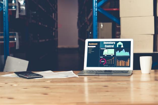 Aplicación de software de gestión de almacenes