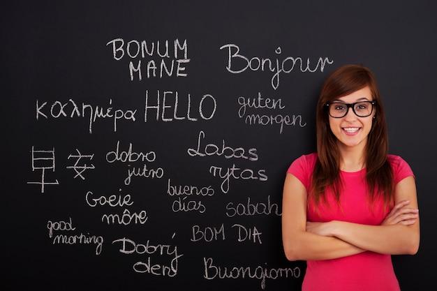 Aprendiendo idiomas extranjeros