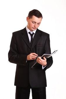 Apuesto hombre de negocios profesional.