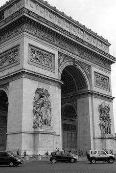 Arc de triomphe en parís francia
