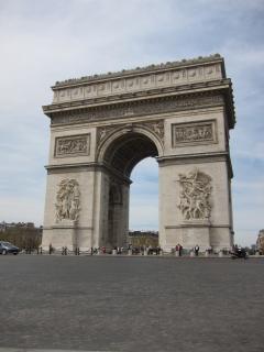 Arco del triunfo du