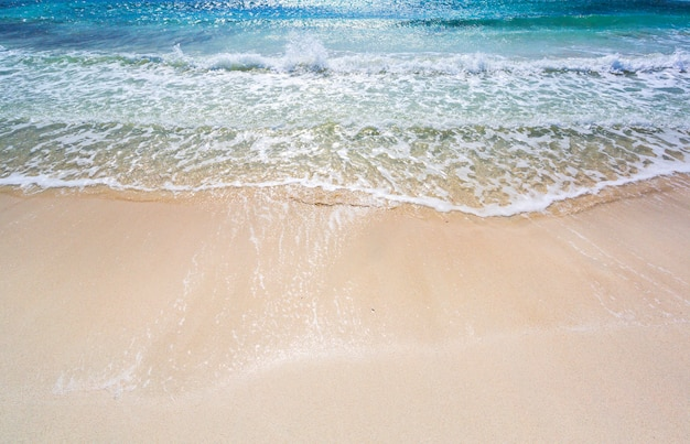 Arena de la playa del mar