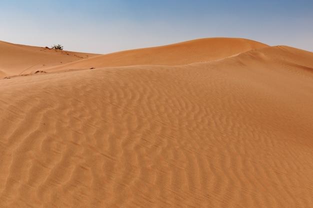 Arena roja del desierto
